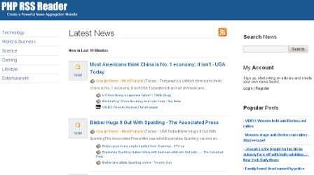 RSS Noticias Blog